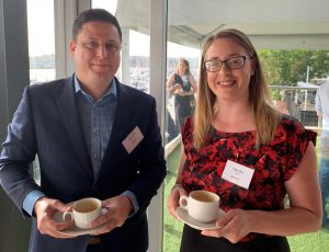John Vody of DIT with Clare Weir of GWG Recruitment