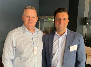 Justin Brown with Robert Buck, Managing Director of DIT